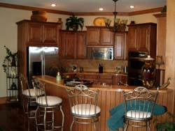 Custom Cabinets by Hendrix Construction